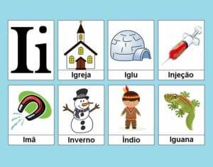 atividades com vogais i