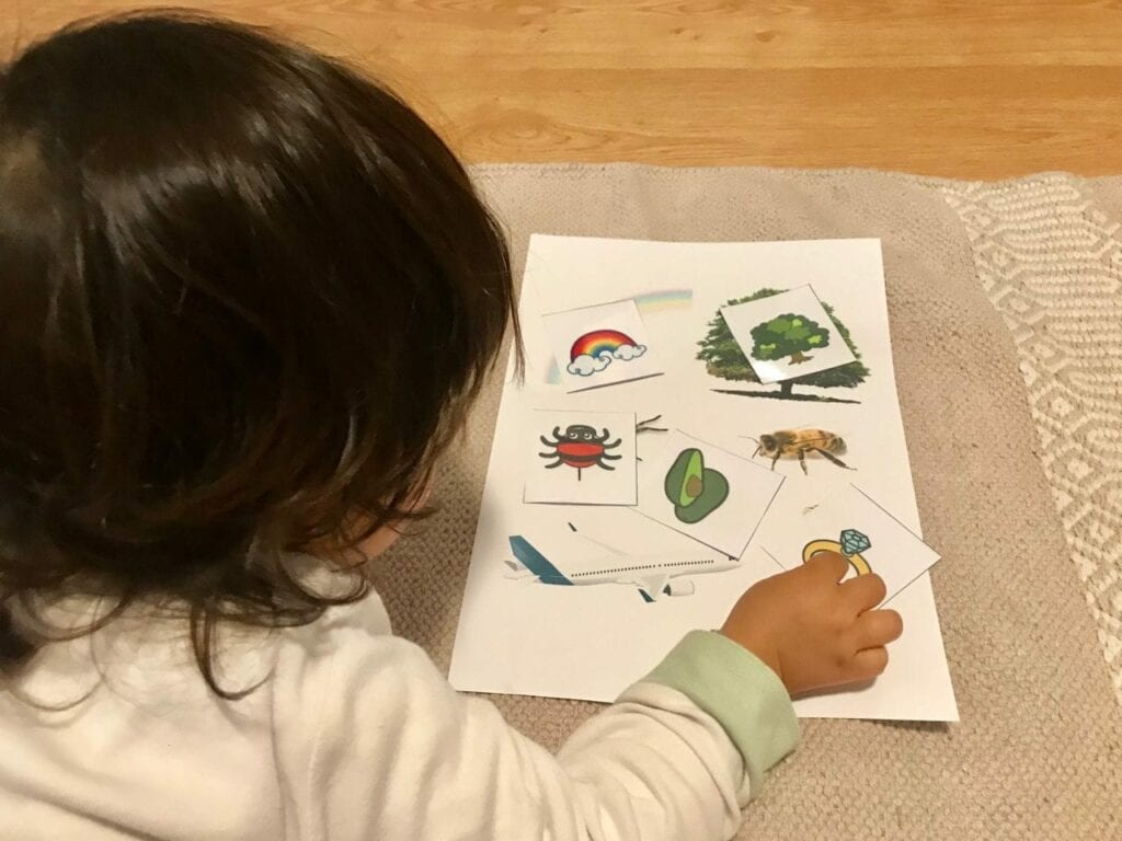 atividades com vogais inspiradas em montessori a 6