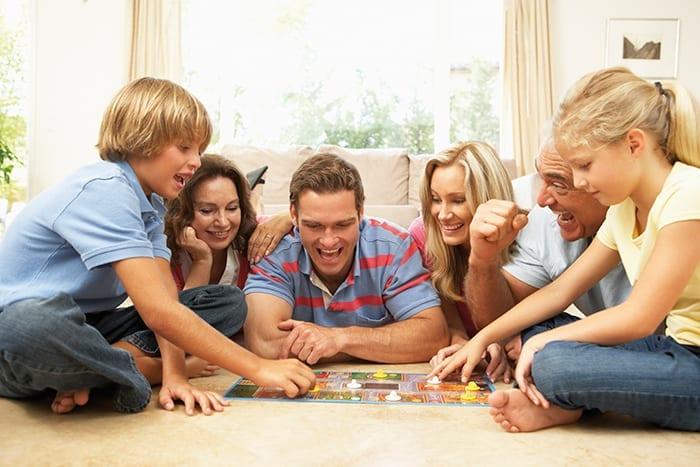 brincar com seus filhos