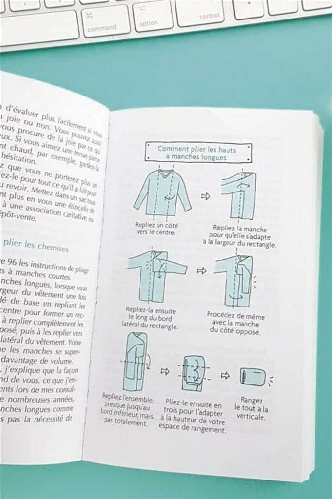 Como dobrar roupa de criança com o Metodo KonMari 01