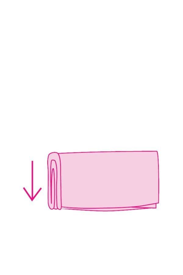 Como dobrar roupa de criança com o Metodo KonMari 07
