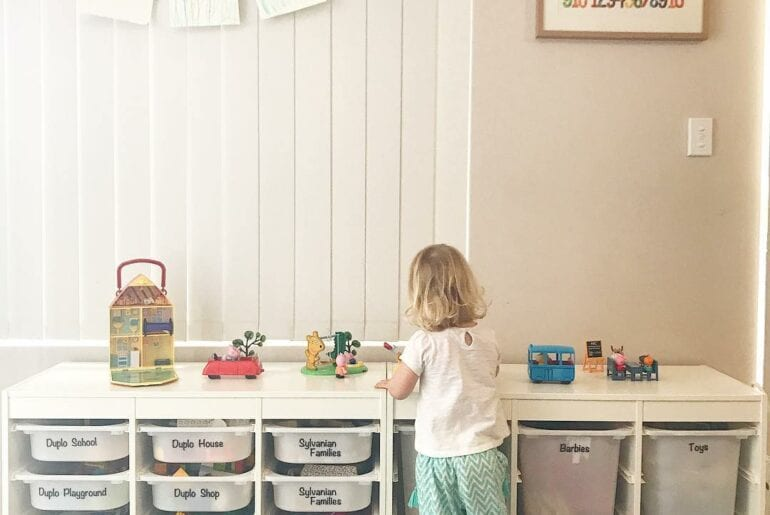 Como organizar os brinquedos com o metodo Marie Kondo