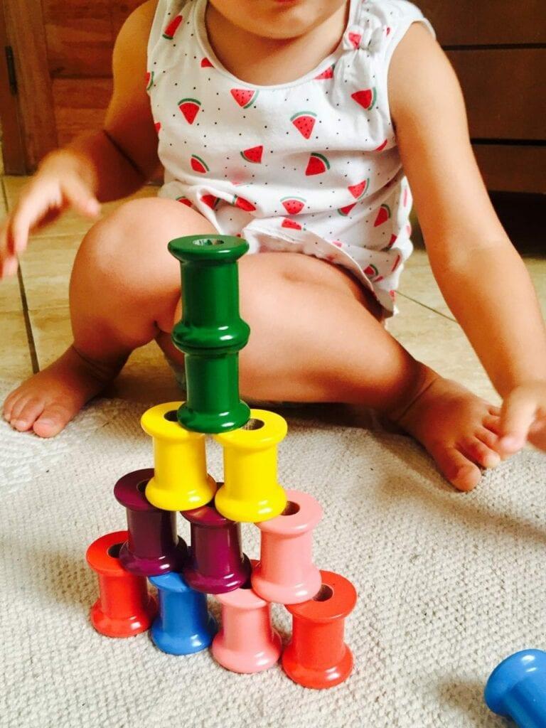 Construindo torres com carreteis 10