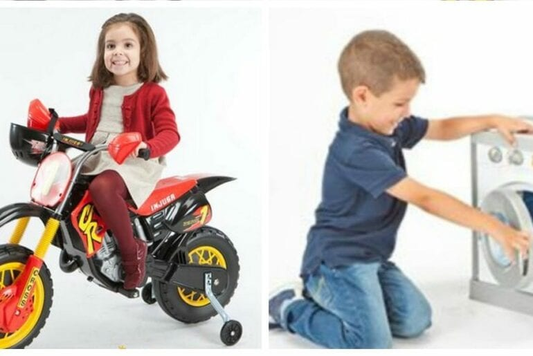 como saber se um brinquedo e para menina ou para menino