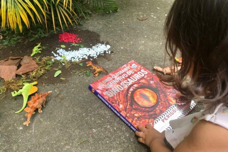 livros infantis sobre dinossauros