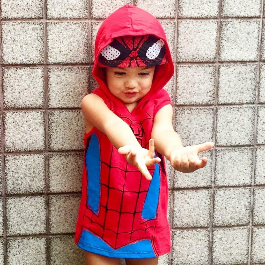 roupa de menina super heroi 01