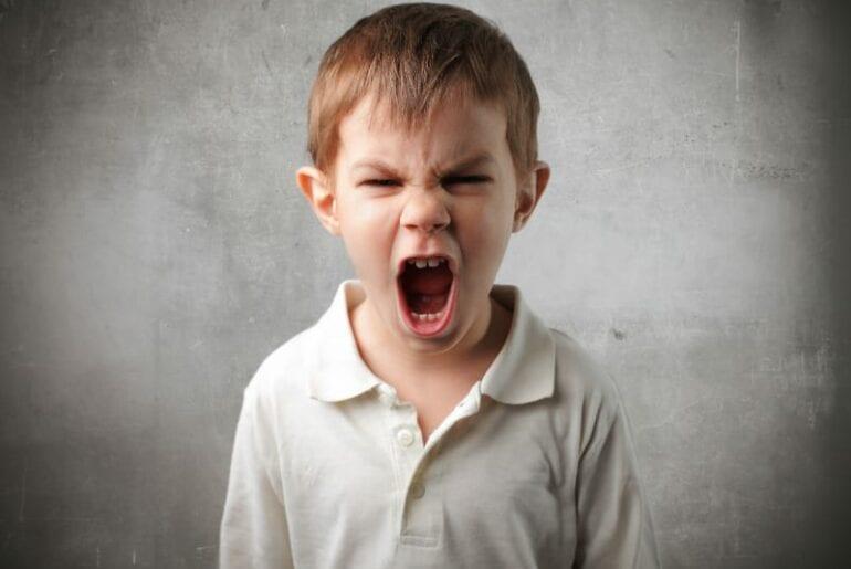 criancas agressivas