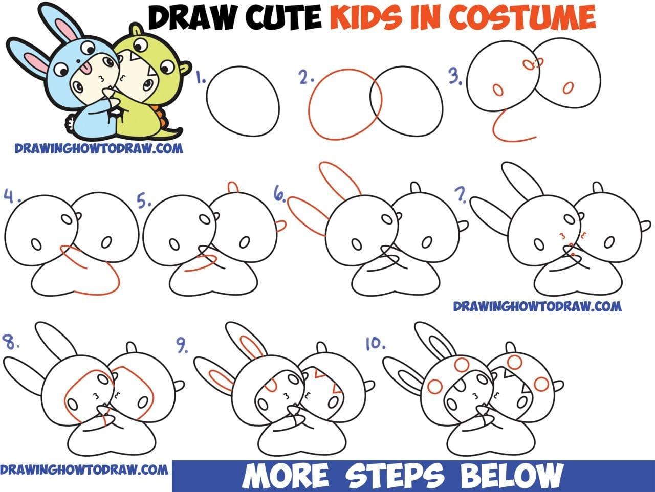 Desenhos Kawaii Para Colorir: 180 Desenhos Kawaii Para Desenhar E Colorir