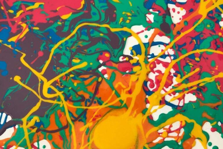 artividade artistica com tinta caseira 01