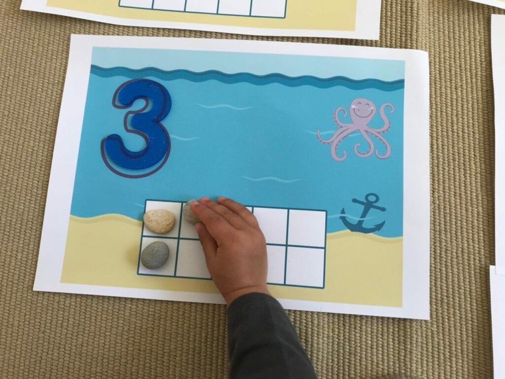 atividade com numeros sobre animais marinhos 03