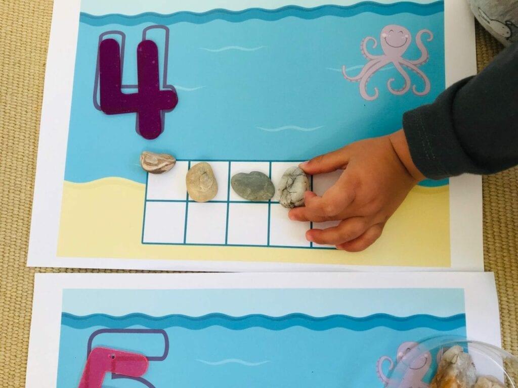 atividade com numeros sobre animais marinhos 04