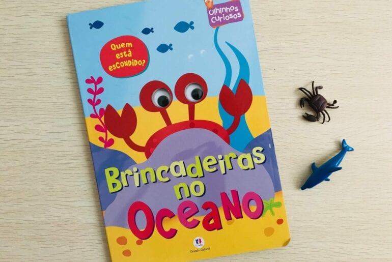 brincadeiras no oceano livro