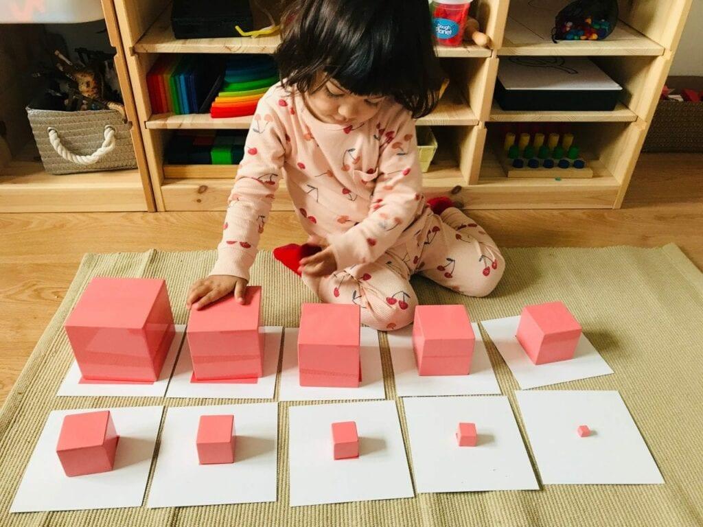 cartoes para usar com a torre rosa montessoriana 03