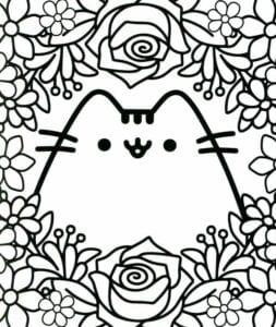 desenhos para colorir kawaii 02