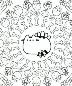 desenhos para colorir kawaii 03