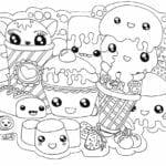 desenhos para colorir kawaii 04