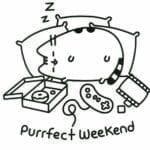 desenhos para colorir kawaii dormindo