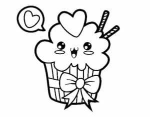 desenhos para colorir kawaii sorvete 02