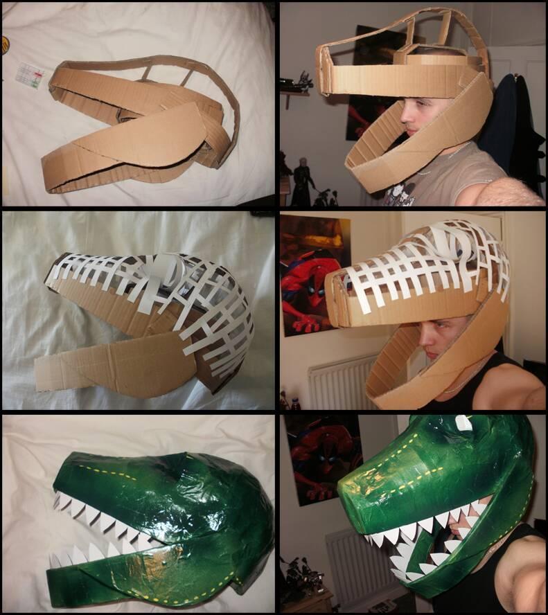 fantasias de papelao dinossauro 1