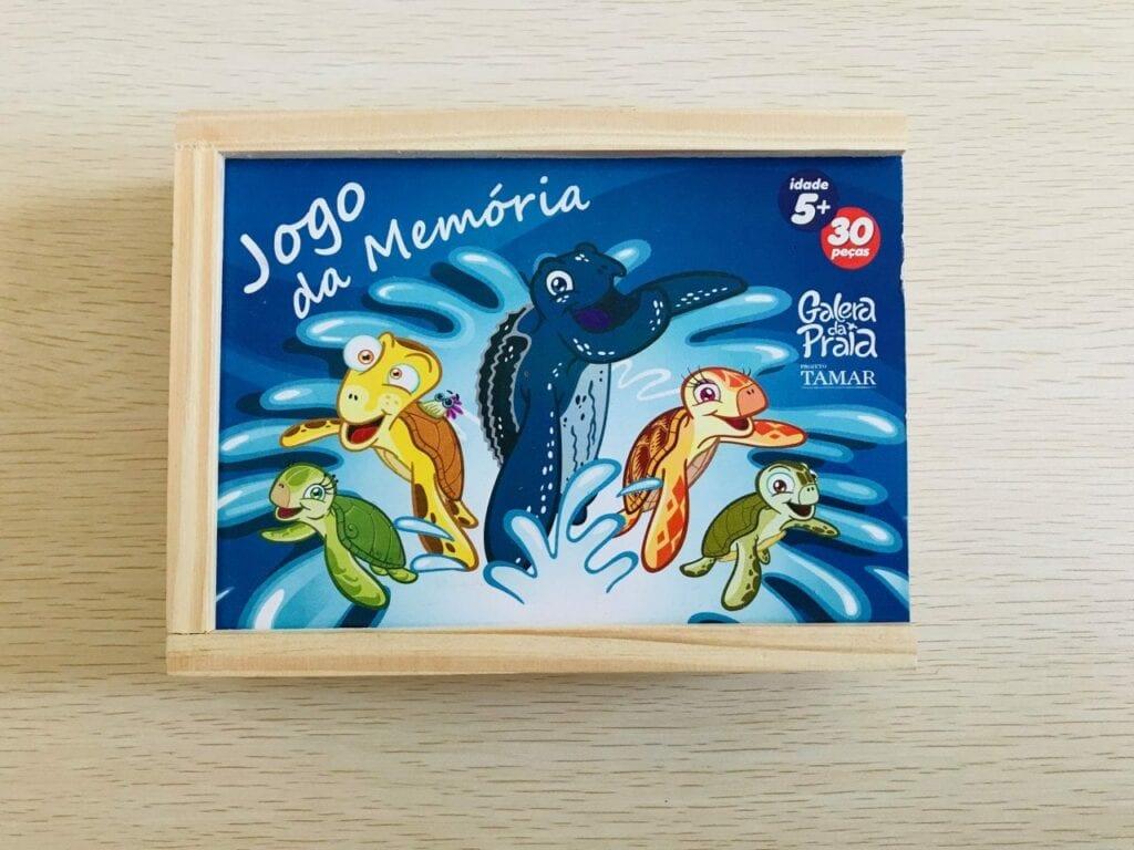 jogo da memoria sobre animais marinhos projeto tamar