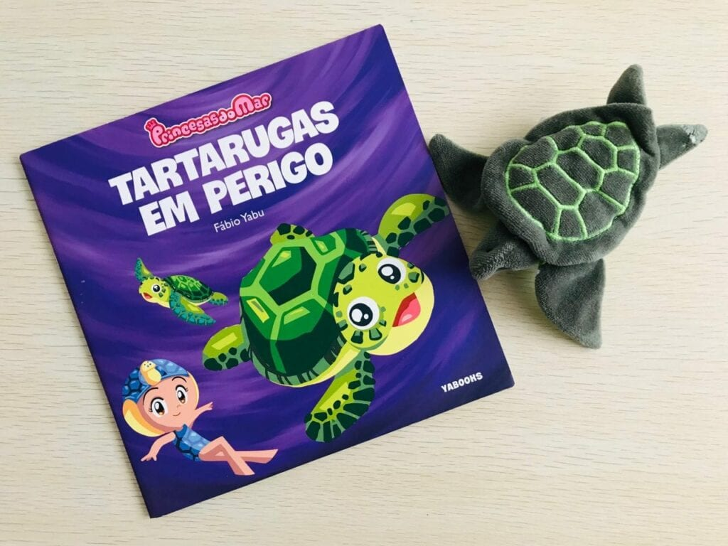 tartarugas em perigo livro infantil