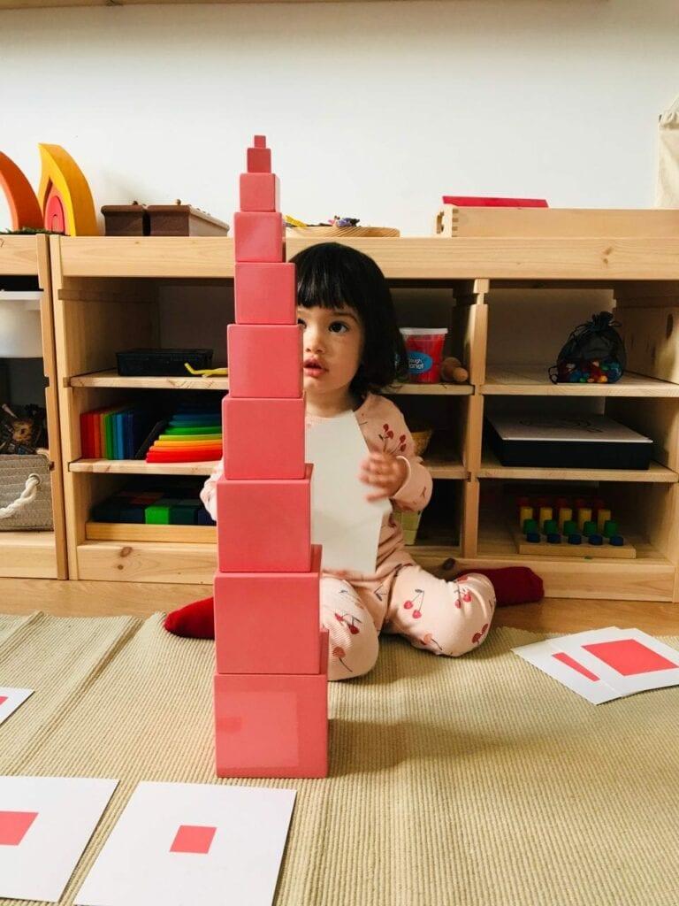 torre montessoriana rosa 20