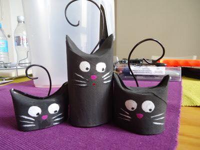 Animais feitos com rolos de papel higienico 05
