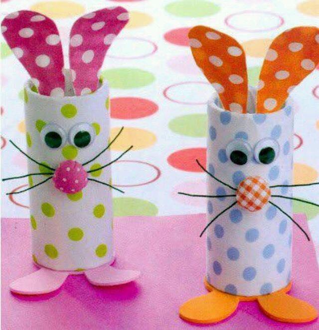 Animais feitos com rolos de papel higienico 06