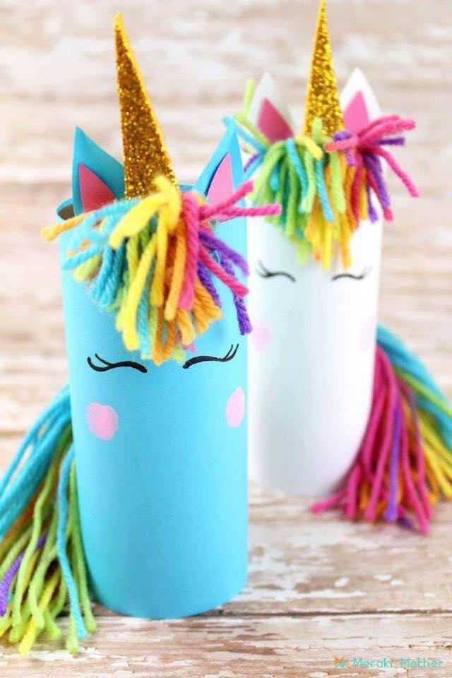 Animais feitos com rolos de papel higienico 07