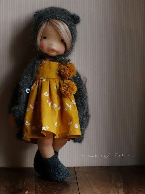 Bonecas Waldorf para maiores de 6 anos 06
