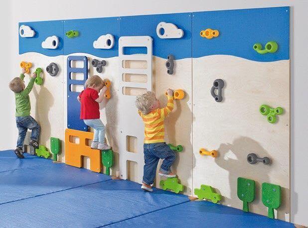 Paredes de escalada para o quarto das criancas 01