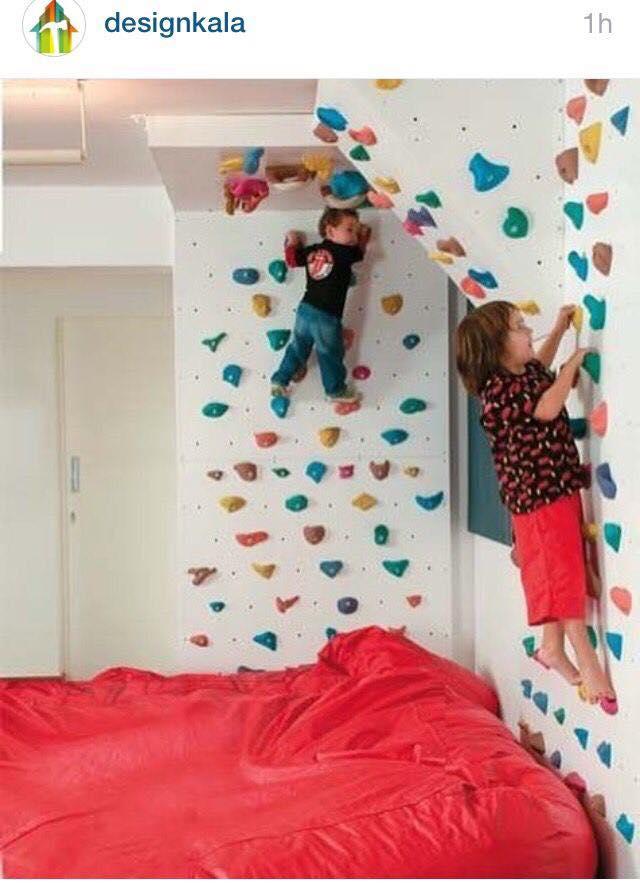 Paredes de escalada para o quarto das criancas 03