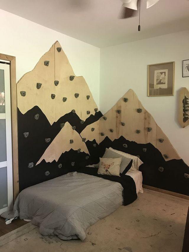 Paredes de escalada para o quarto das criancas 05