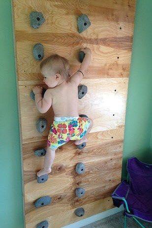 Paredes de escalada para o quarto das criancas 06
