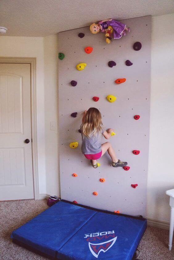 Paredes de escalada para o quarto das criancas 09