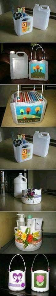 aproveitar garrafas de plastico para organizar a casa 09
