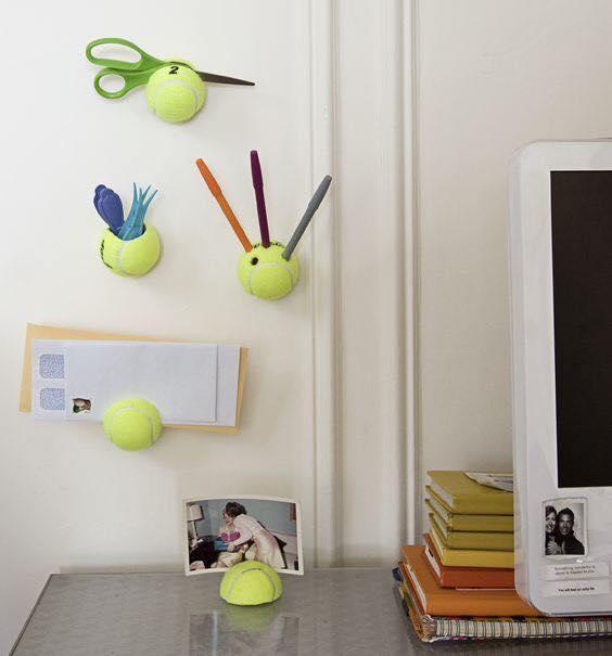 ideias para reciclar bolas de tenis 07