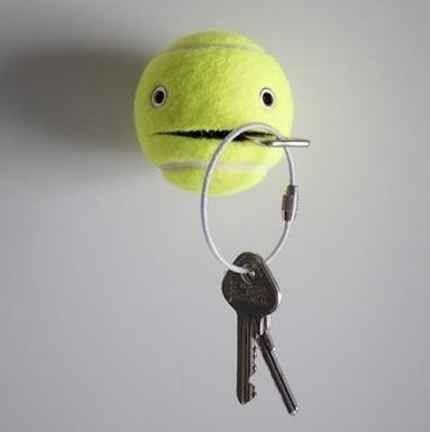 ideias para reciclar bolas de tenis 09