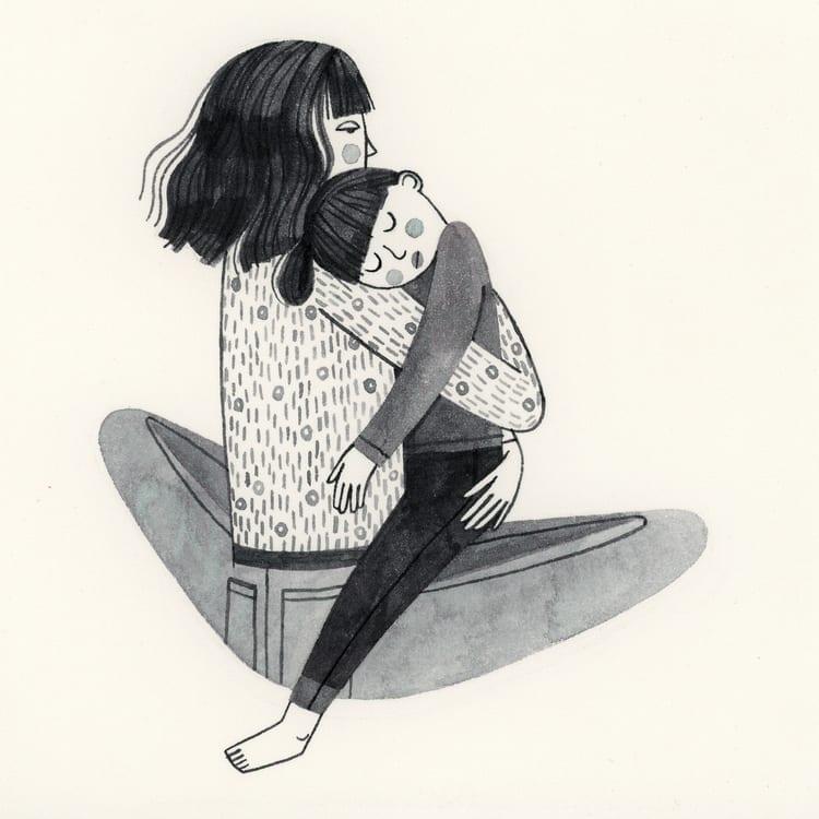mae de uma menina de 2 anos 21