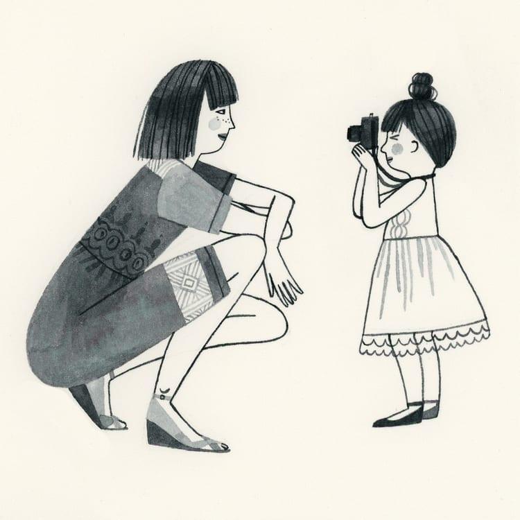 mae de uma menina de 2 anos 44