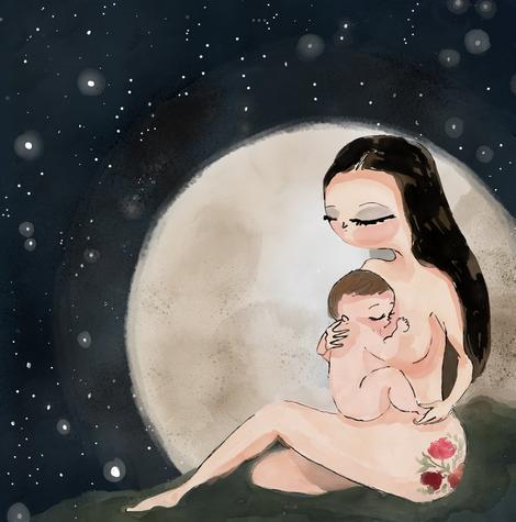 olhar poetico sobre a maternidade 07