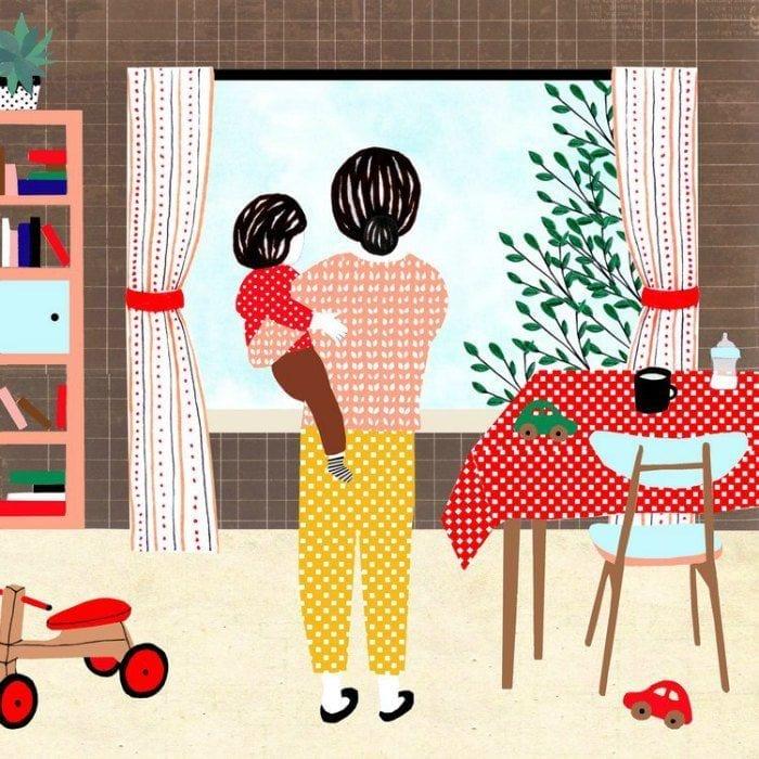 momentos da maternidade ilustrados monann 04
