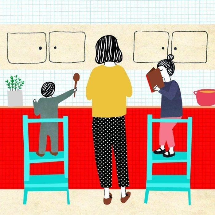momentos da maternidade ilustrados monann 06