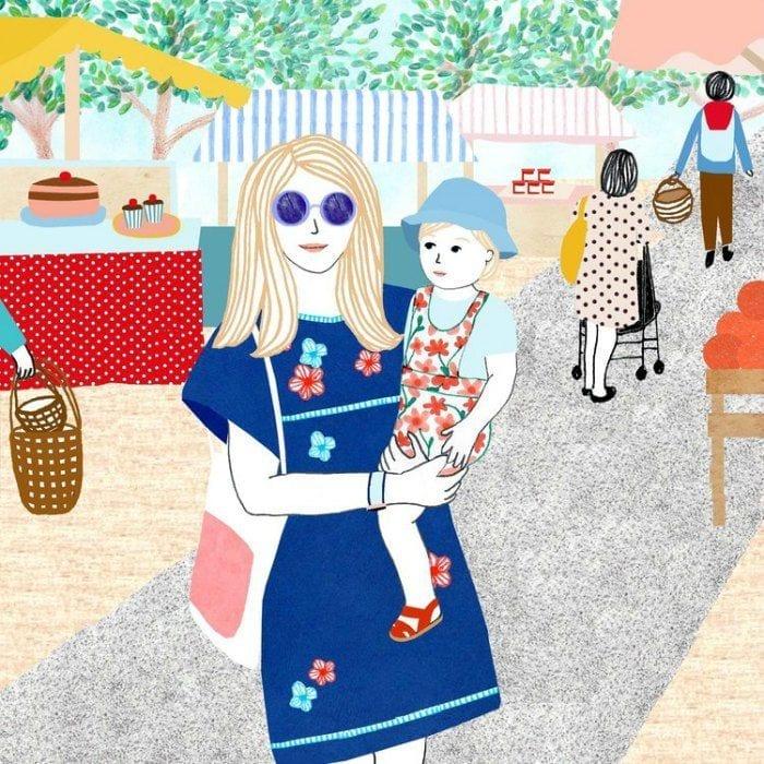 momentos da maternidade ilustrados monann 07