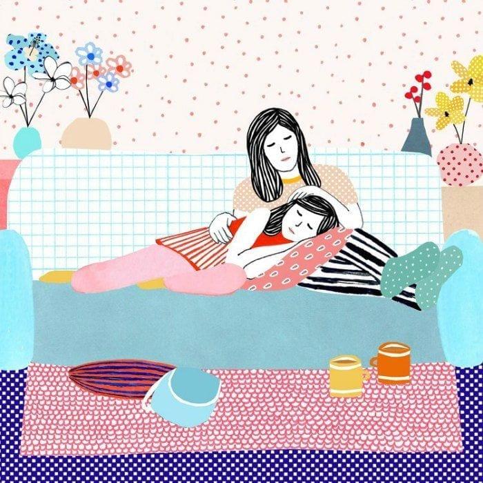 momentos da maternidade ilustrados monann 09