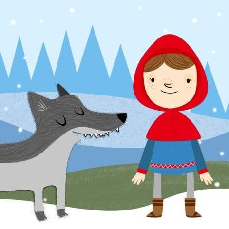 a historia de chapeuzinho vermelho contada pelo lobo