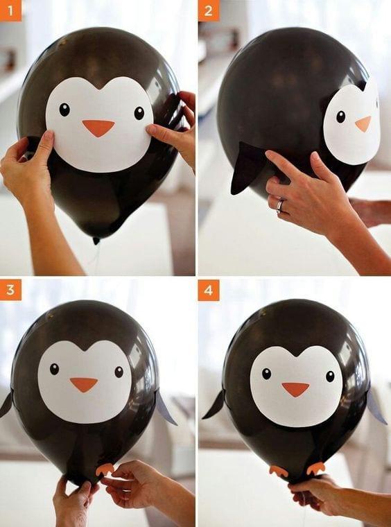 animais fofos feitos com bola de soprar 10