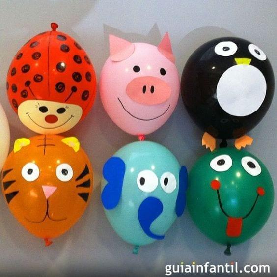 animais fofos feitos com bola de soprar 11