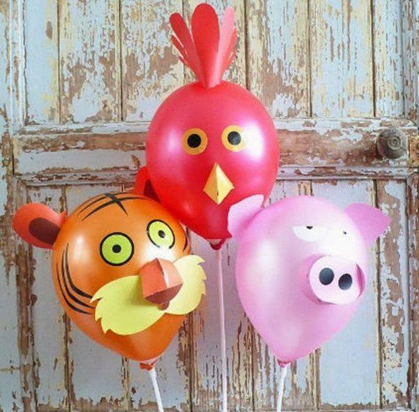 animais fofos feitos com bola de soprar 16