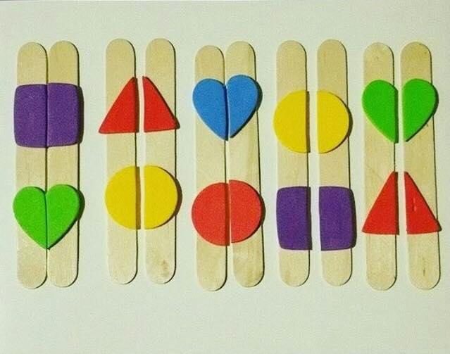 aprender figuras geometricas palitos de picole 2